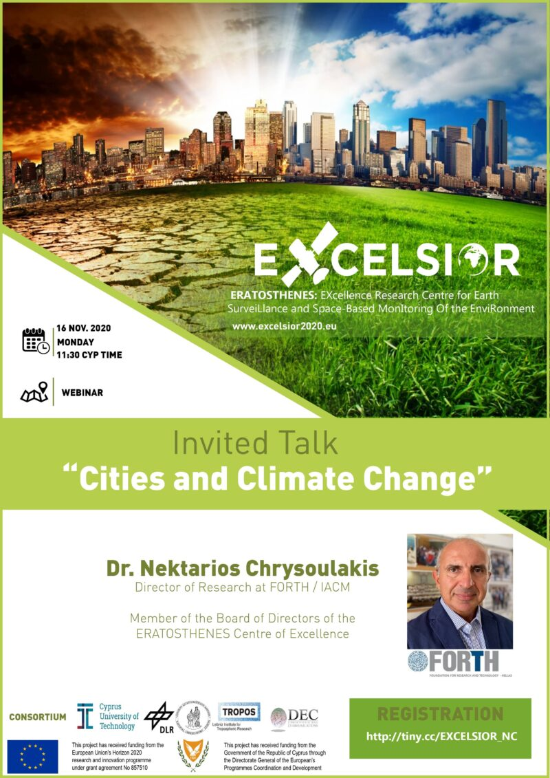 Invited talk - Cities and Climate change